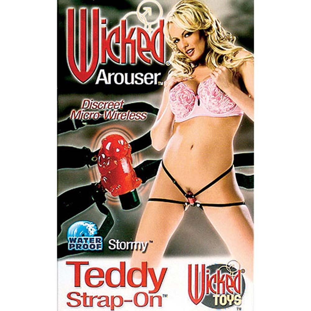 Wicked Arouser Waterproof Wireless Teddy Strap-On - View #2