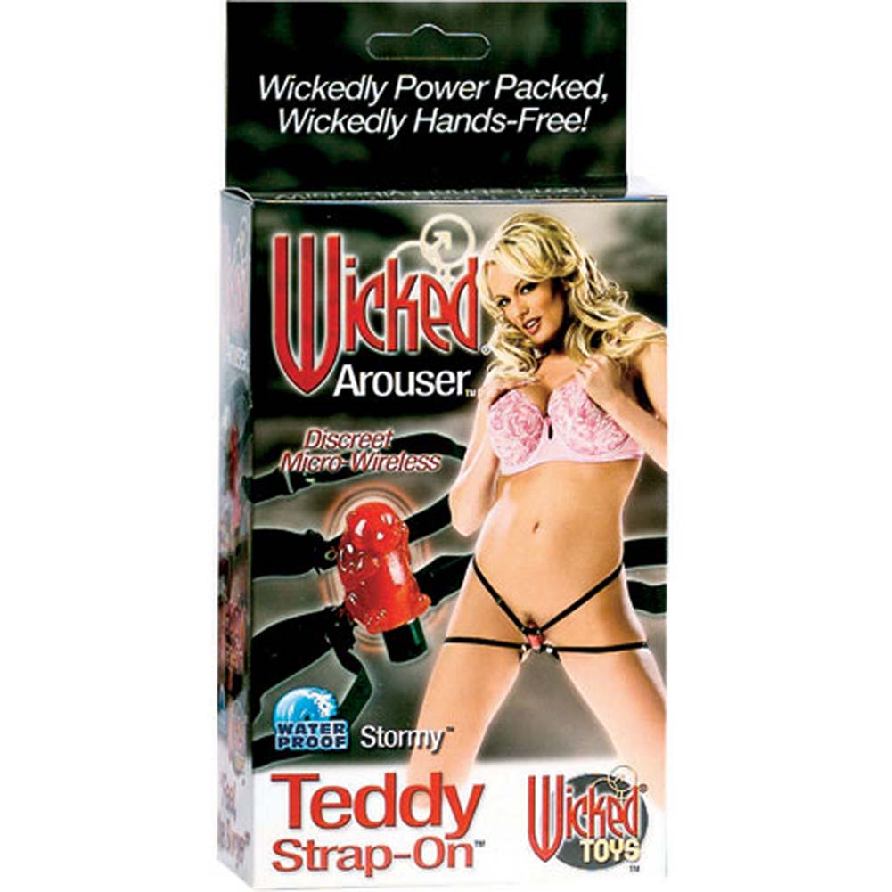 Wicked Arouser Waterproof Wireless Teddy Strap-On - View #4
