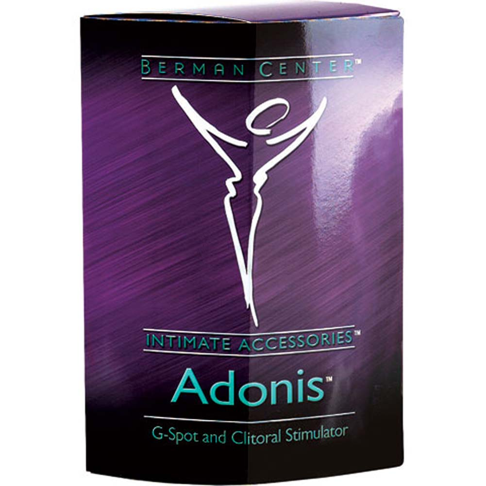 Berman Center Adonis Silicone G-Spot and Clitoral Stimulator - View #4