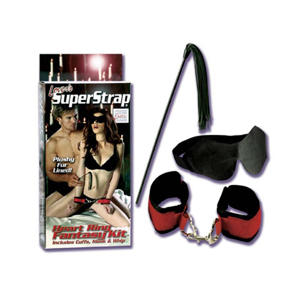 Lovers Super Strap Heart Ring Fantasy Kit - View #1