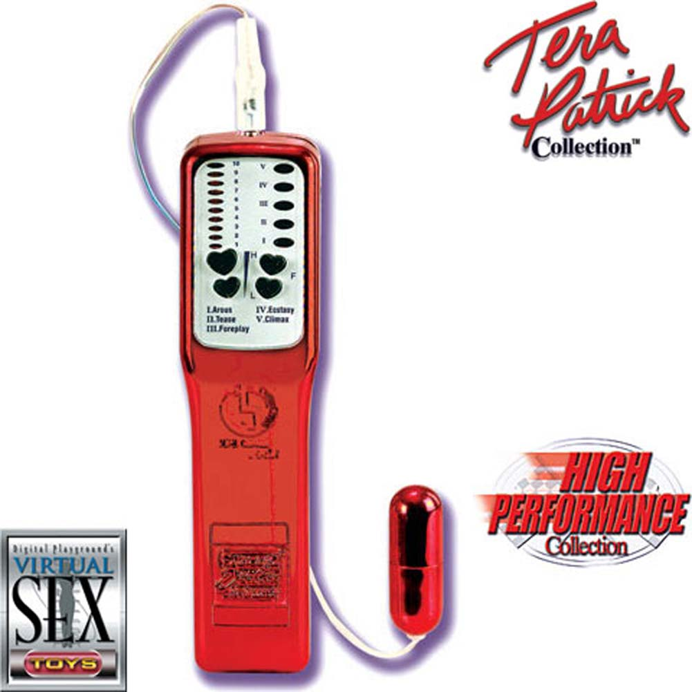 Tera Patricks Super Charged Waterproof Micro Bullet Red - View #2