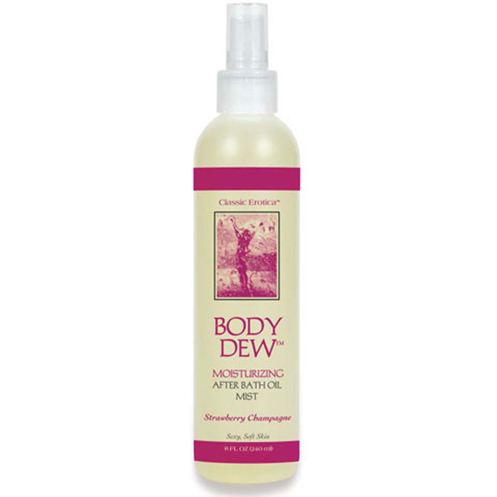 Body Dew After Bath Oil Mist Strawberry Champagne 8 Fl. Oz. - View #1