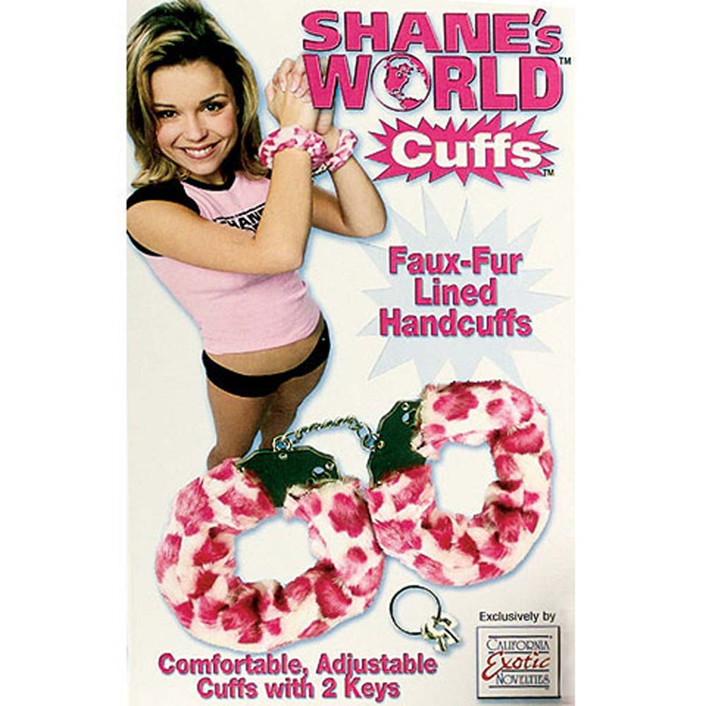 Shanes World Cuffs with 2 Spare Keys - View #2