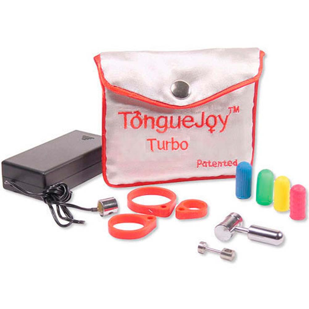 Tongue Joy Silicone Vibrating Set - View #2