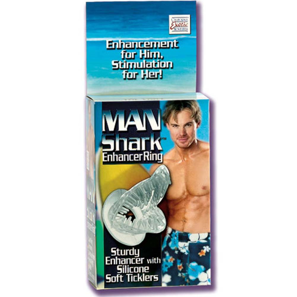 Man Shark Enhancer Silicone Ring - View #1