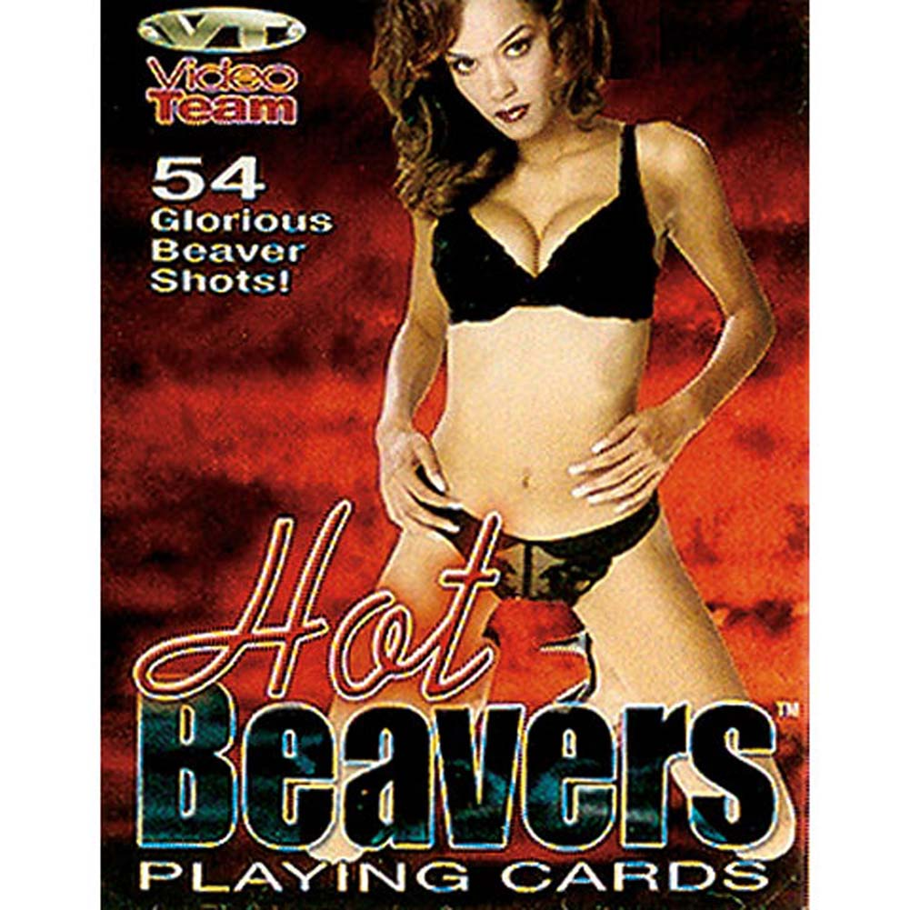 Hot Beavers Playing Cards - View #1