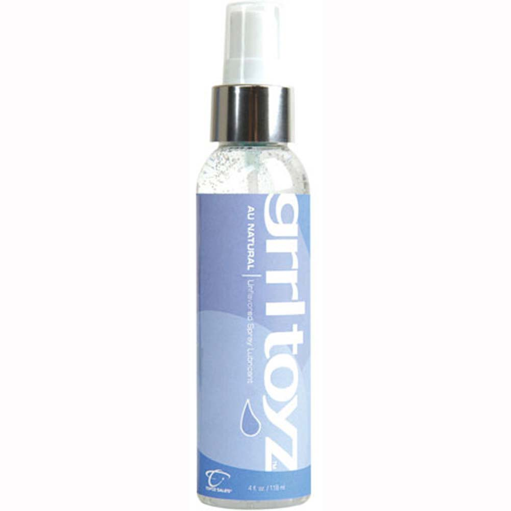 Grrl Toyz Flavored Spray Lube Au Natural 4 Fl. Oz - View #1