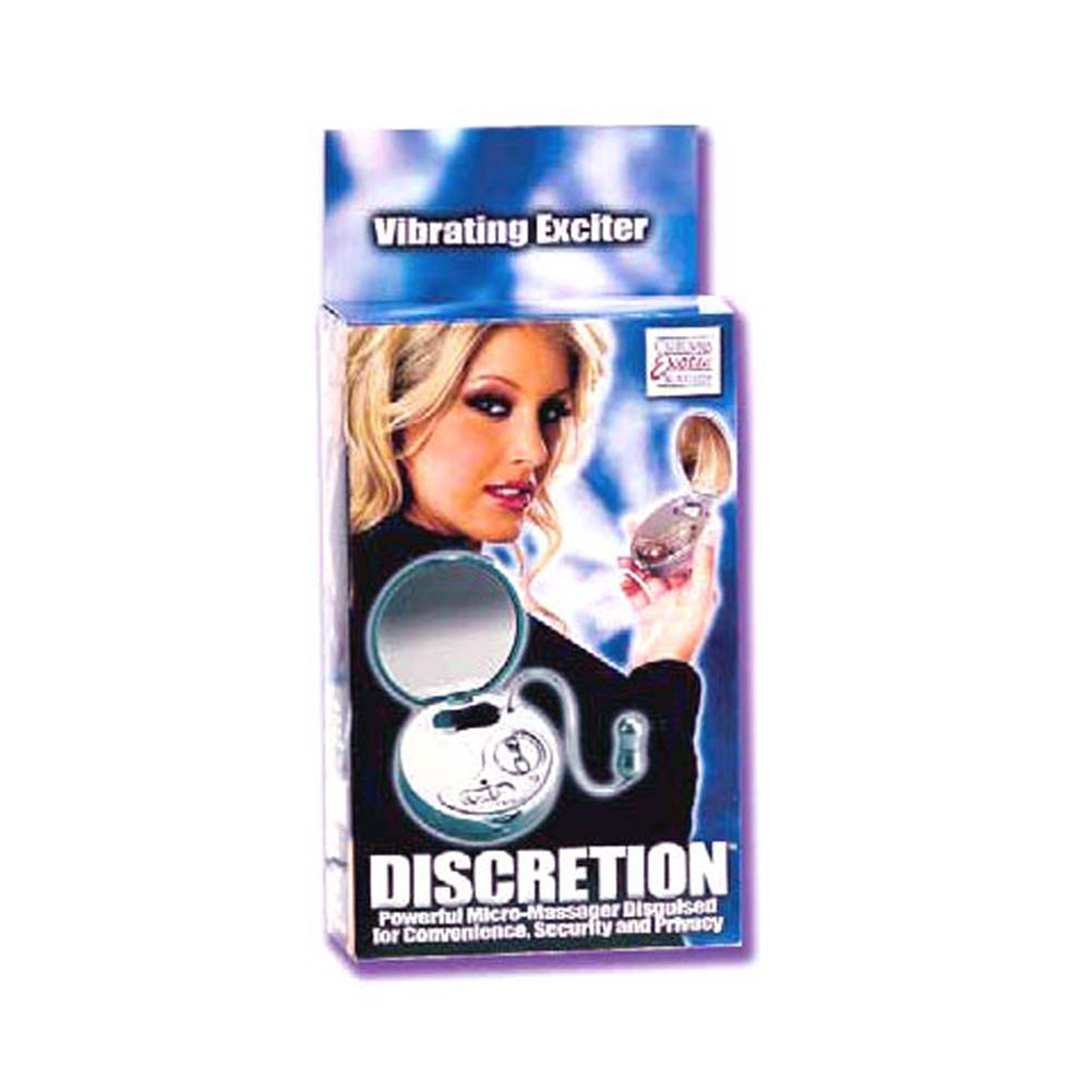 Discretion Vibrating Mini Egg with Mirror 3 In. - View #1