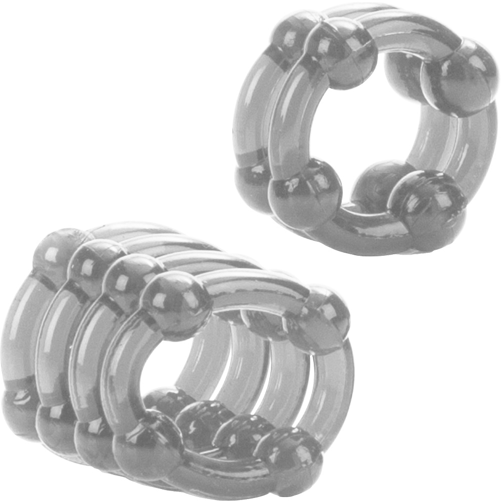 California Exotics COLT Enhancer Rings Pack of 2 Cock Rings Clear - View #3