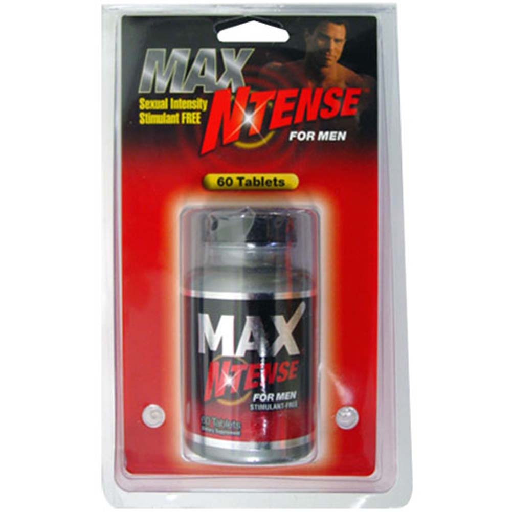 Max N Tense Testosterone Booster for Man 60 Tablets - View #1