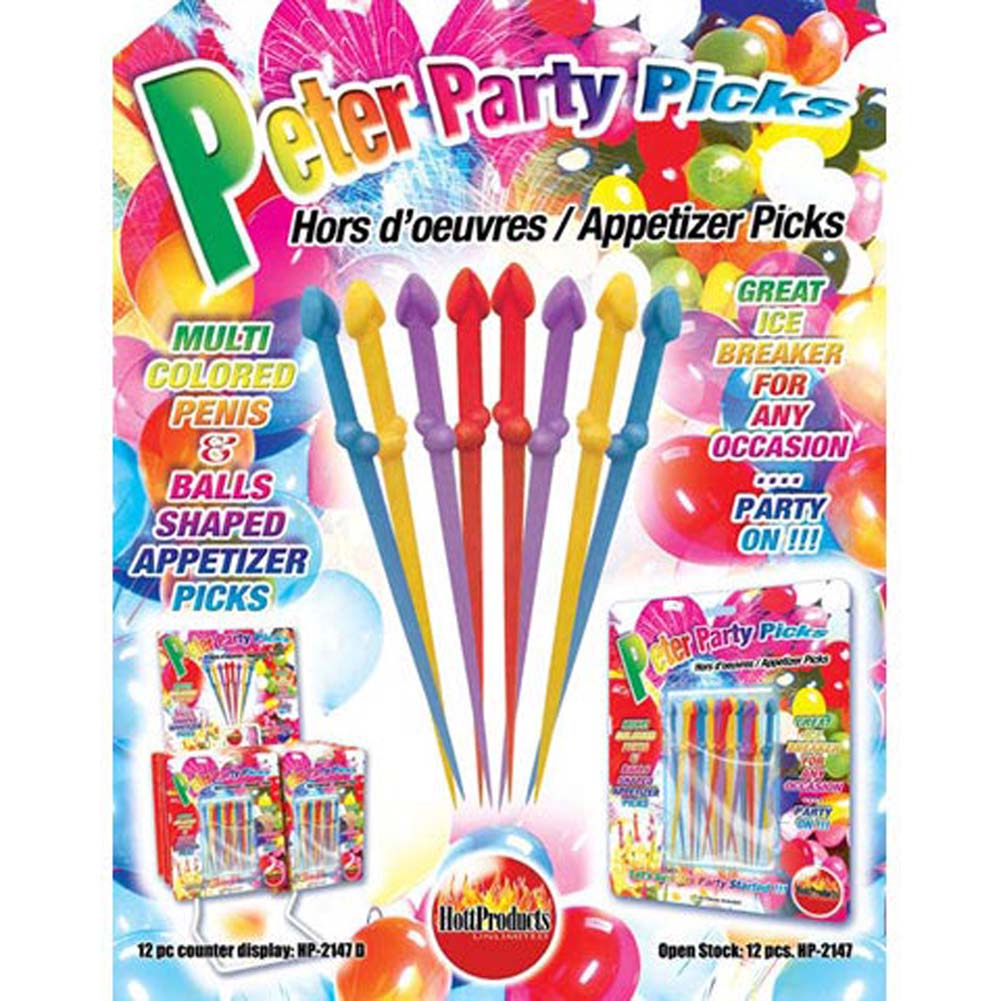 Peter Party Picks 20 Piece Set - View #1