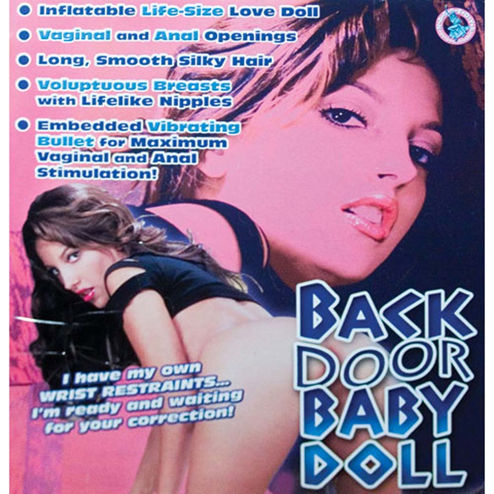 Back Door Baby Doll Inflatable Vibrating Love Doll - View #2