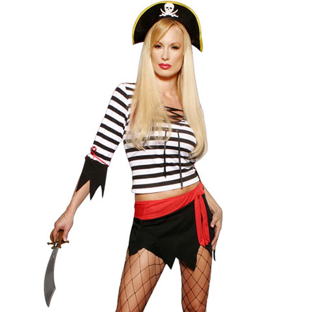 Pirate Booty Longsleeve 3 Piece Costume Set - View #2