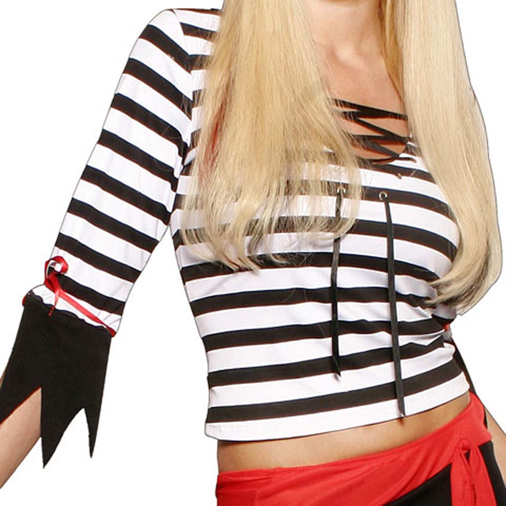 Pirate Booty Longsleeve 3 Piece Costume Set - View #4