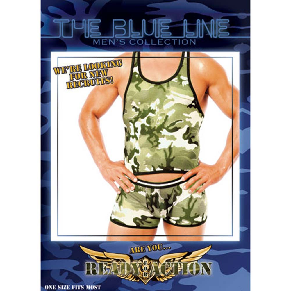 New Recruits Green Camo Set 2 Pc. - View #1