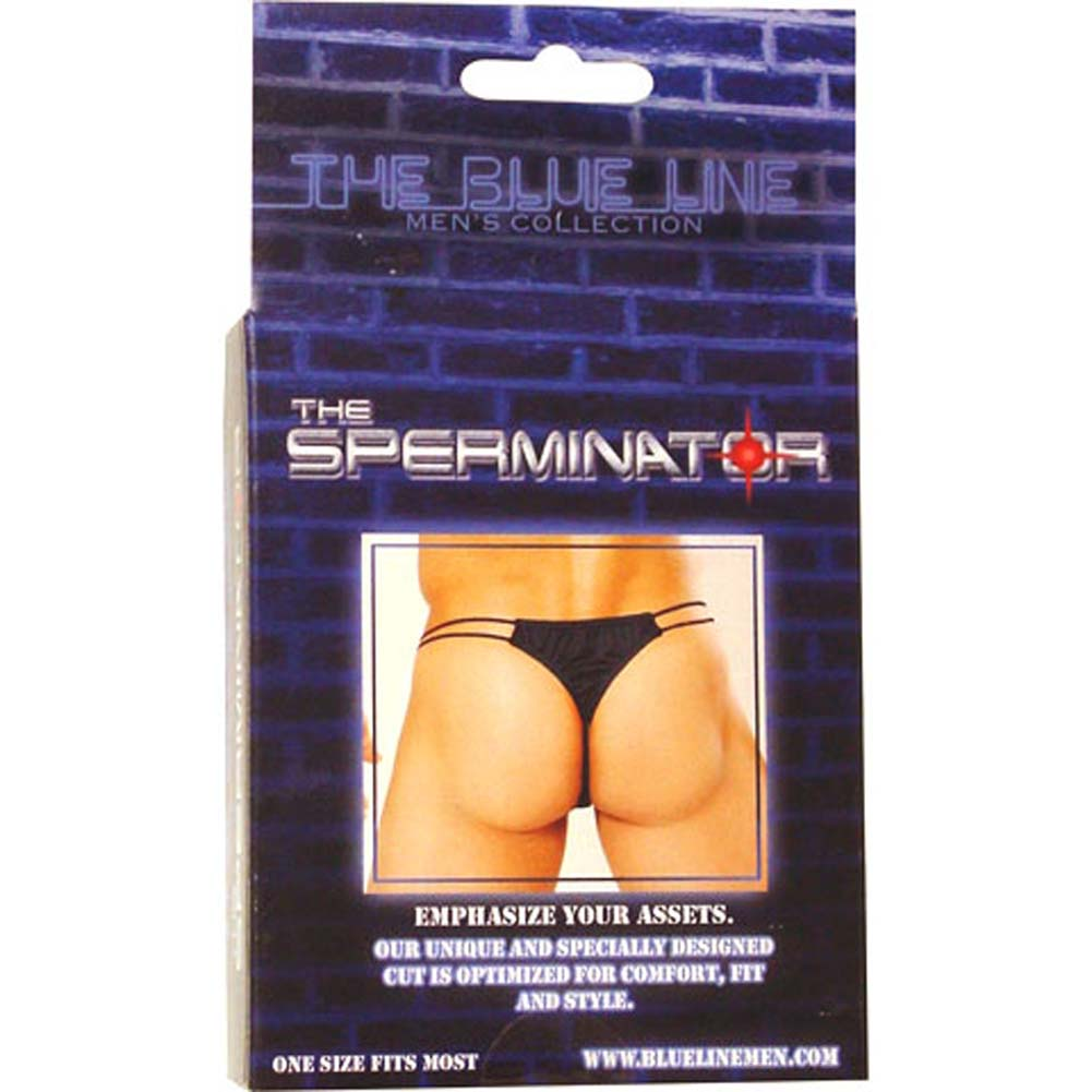 Sperminator Mens Panty Black - View #3