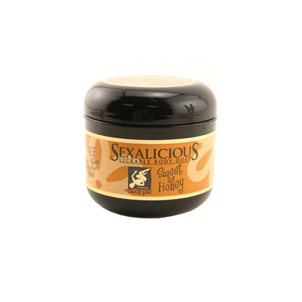 Sexalicious Lickable Body Dust Sweet As Honey 2.6 Oz. - View #1