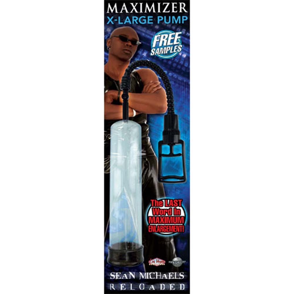 Sean Michaels Reloaded Maximizer XLarge Pump Ebony - View #2