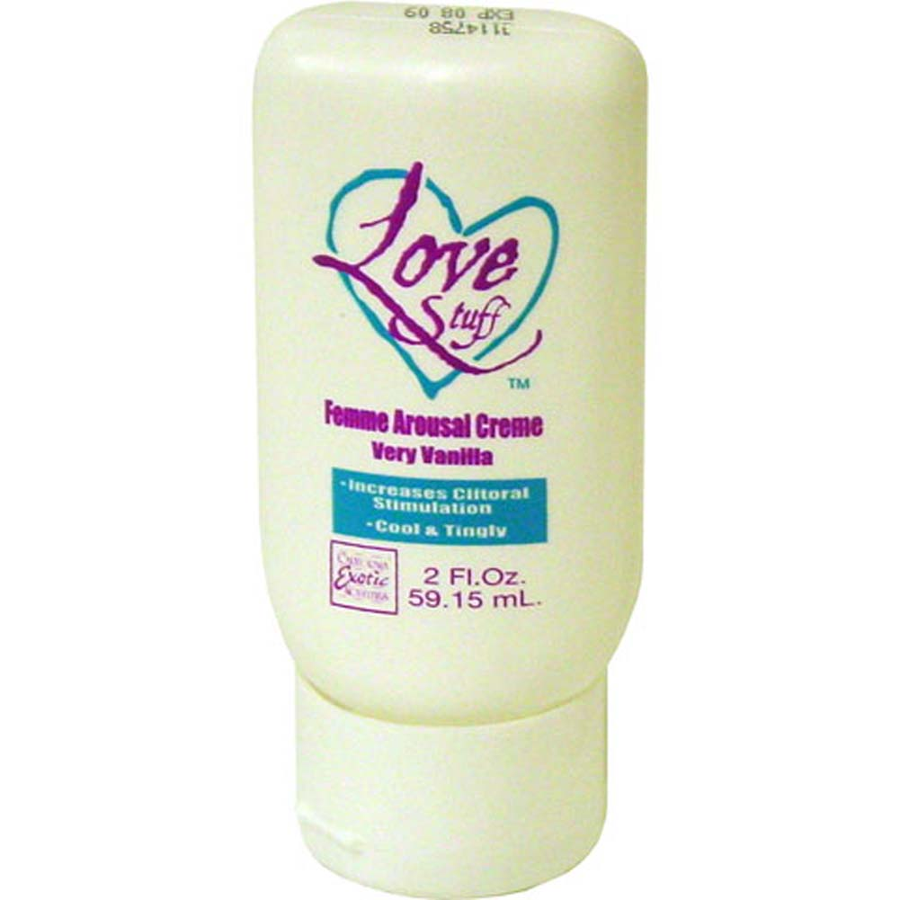 Love Stuff Femme Arousal Creme Very Vanilla 2 Fl. Oz RbDV - View #2