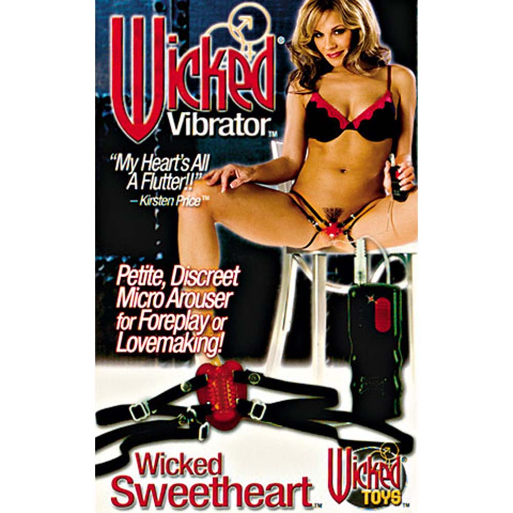 Wicked Sweetheart Jelly Vibrator with Adjustable Straps - View #2