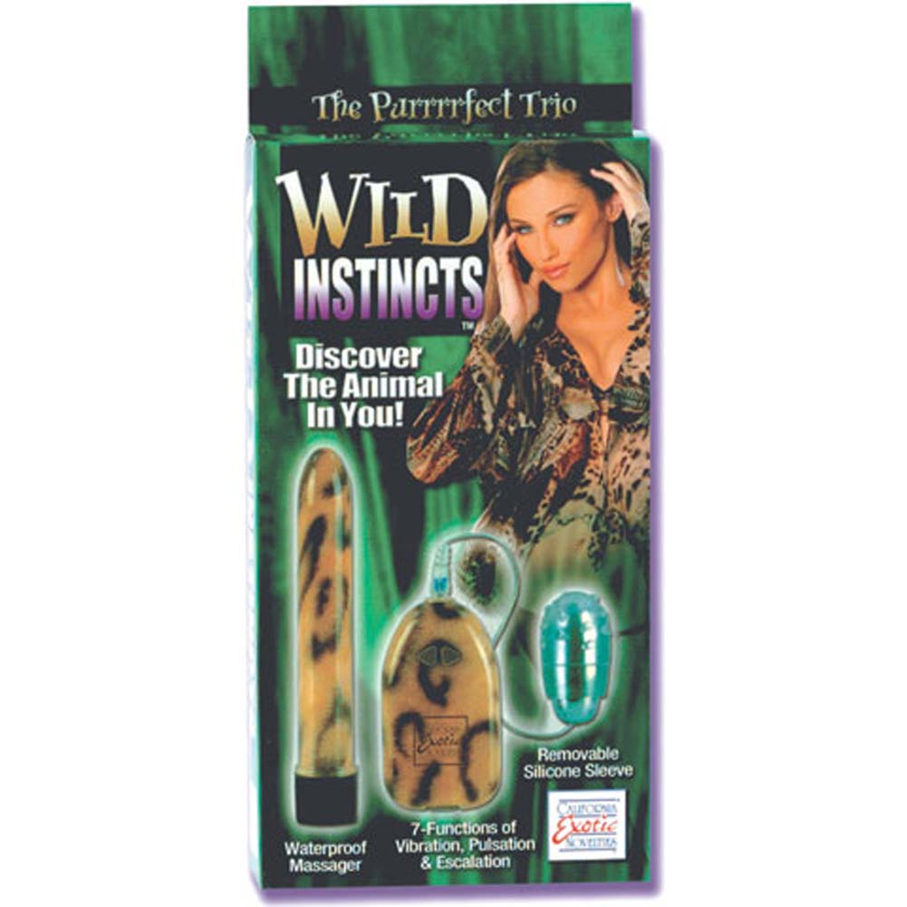 Wild Instincts Kit with Bullet Waterproof Vibe and Sleeve. - View #1