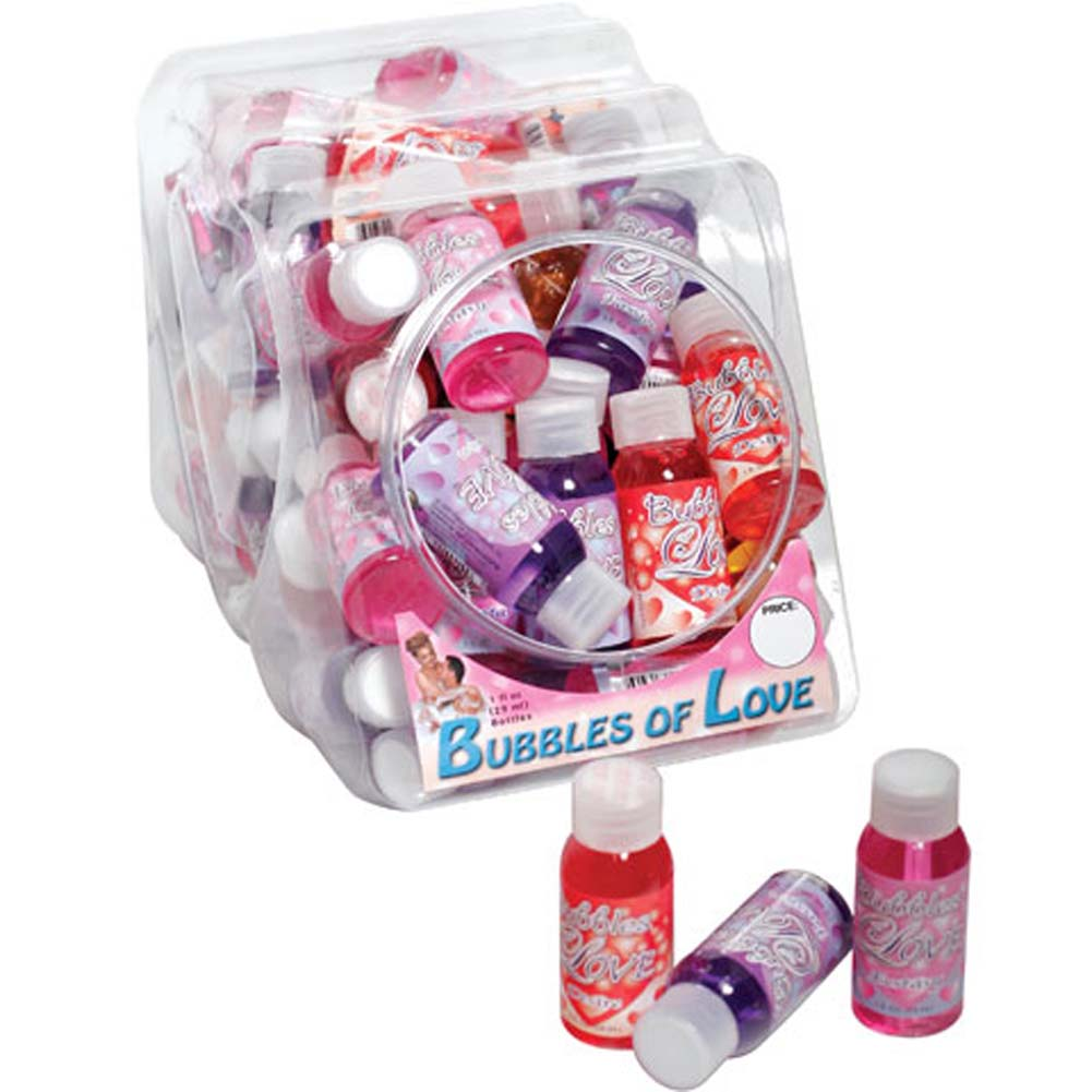 Bubbles of Love 1 Fl.Oz. Assorted Bowl of 48 Counter Display - View #1