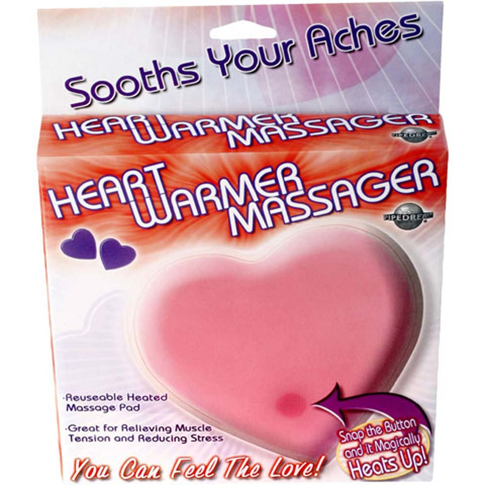 Heart Warmer Jelly Massager Pink - View #1