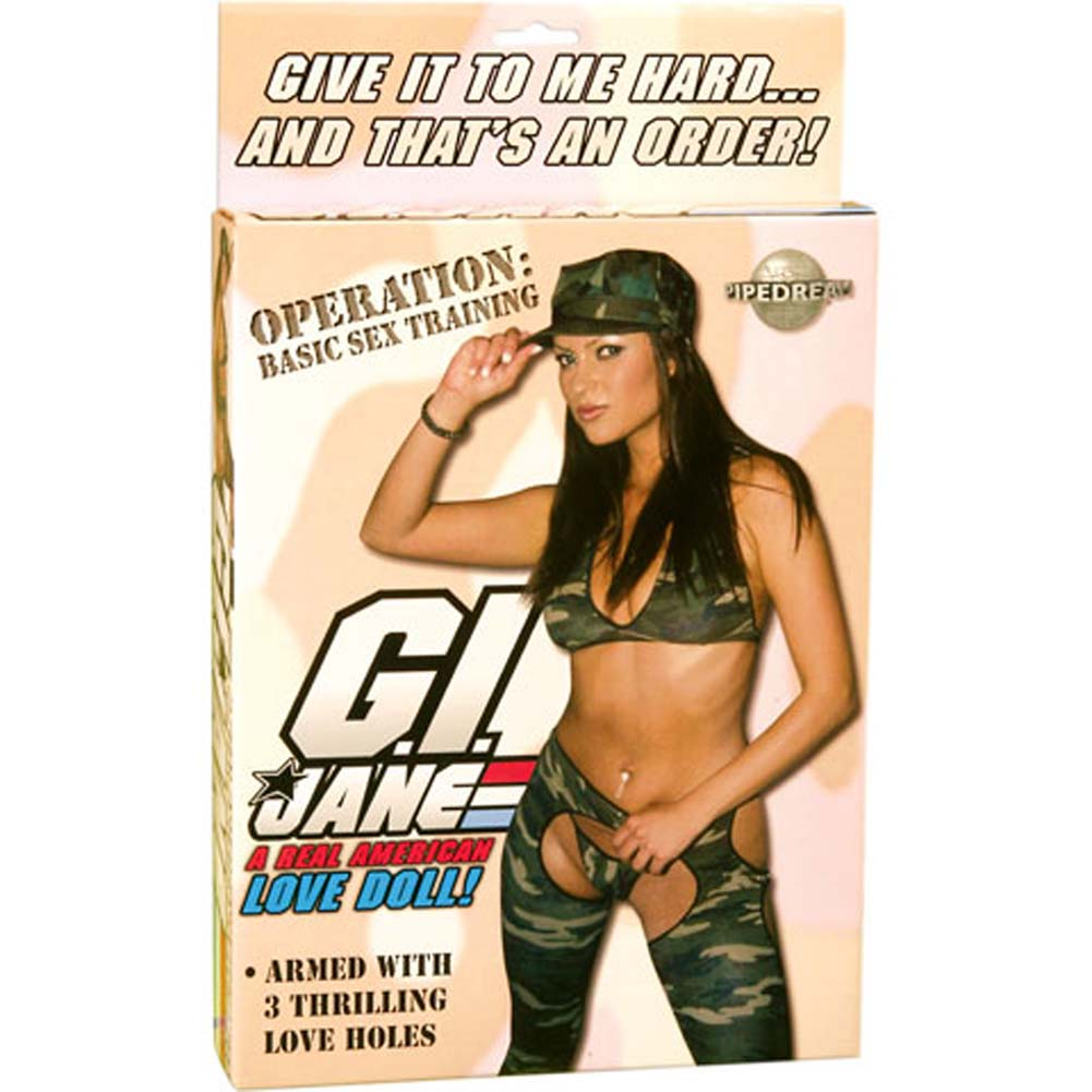 G.I. Jane A Real American Love Doll - View #1