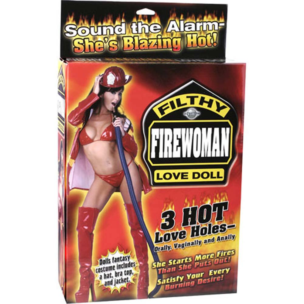 Filthy Firewoman Love Doll - View #1