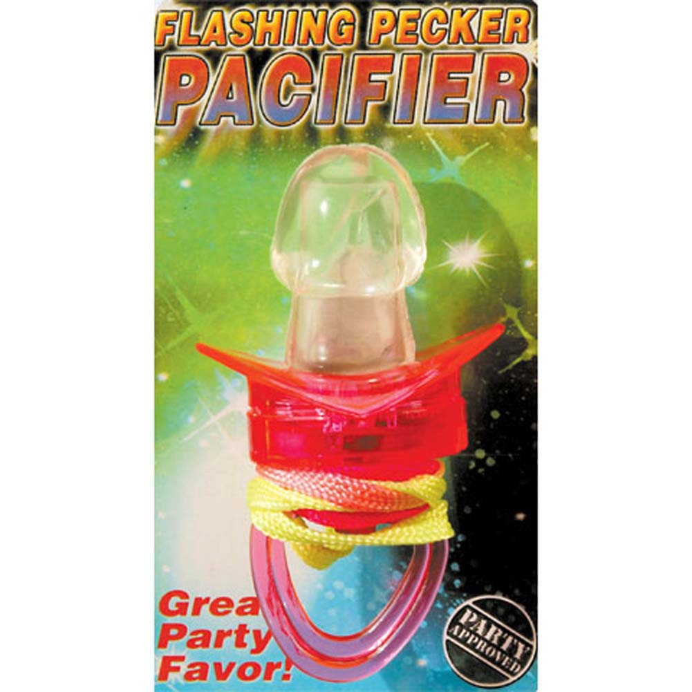 Pipedream Flashing Pecker Pacifier - View #1