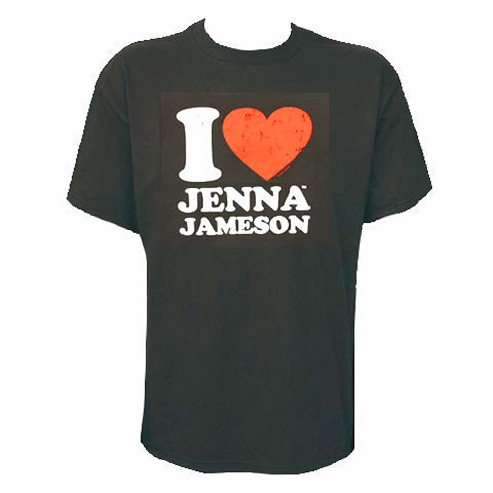 I Love Jenna Jameson Girls T Shirt Large Size - View #1