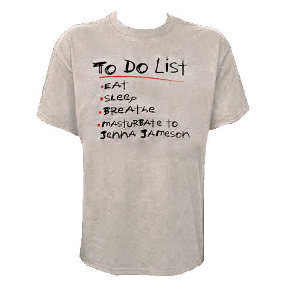 To Do List Mens T Shirt Extra Large Size - View #1