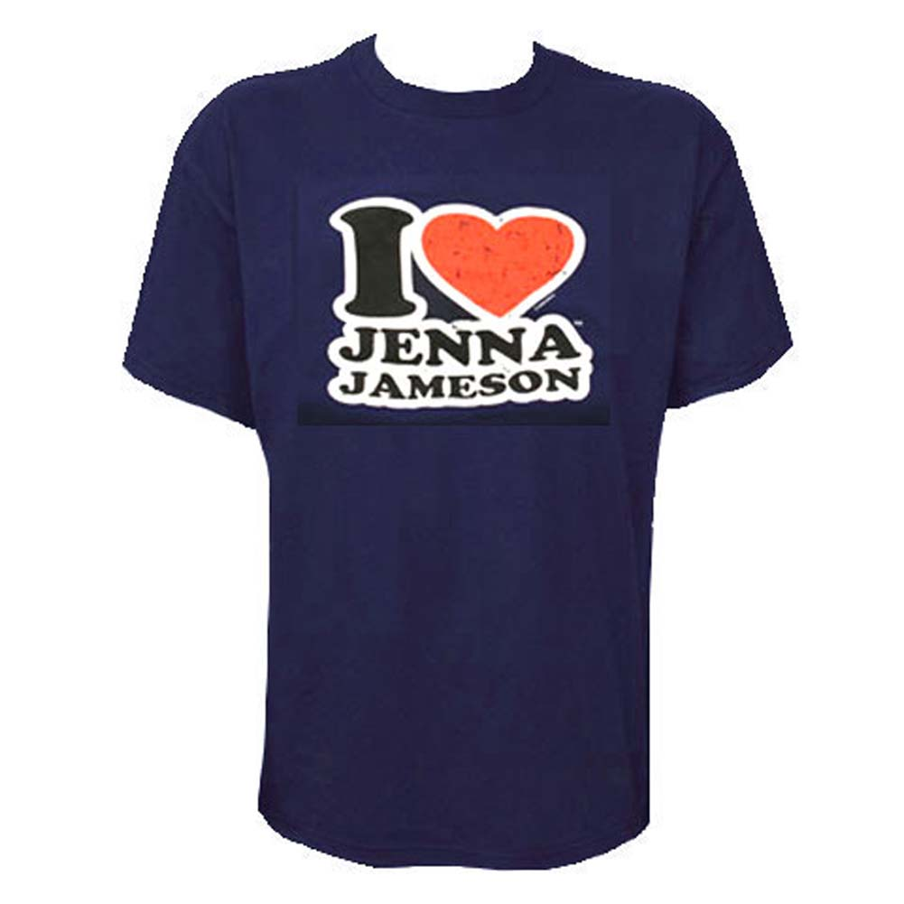 I Love Jenna Jameson Mens T Shirt Extra Large Size - View #1