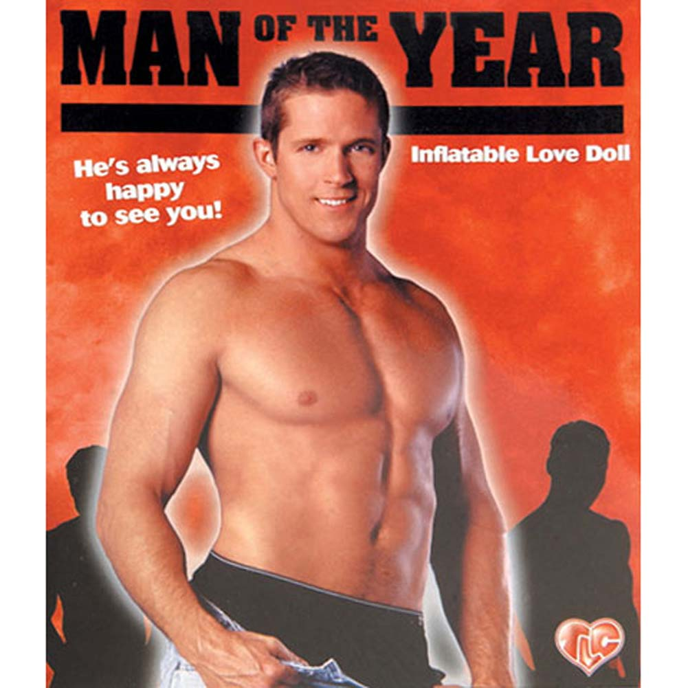 Man of the Year Inflatable Male Love Doll - View #1