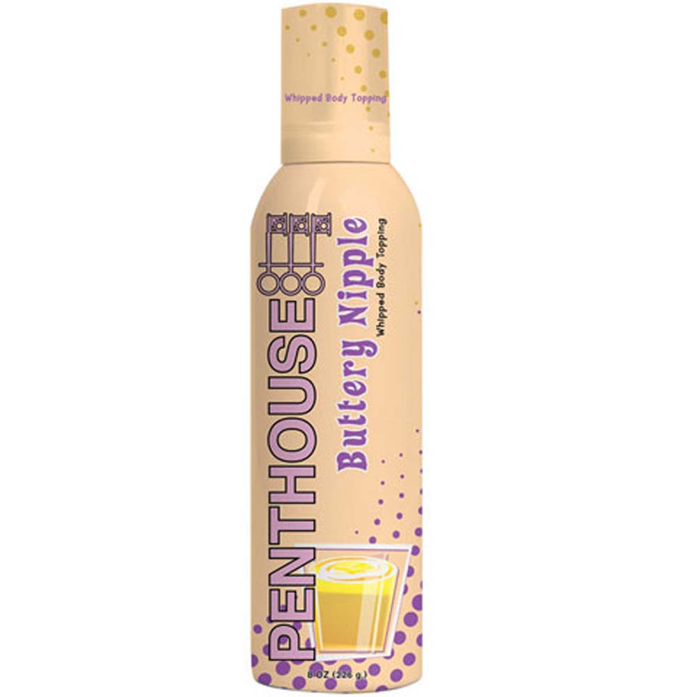 Penthouse Whipped Body Topping Buttery Nipple 8 Fl. Oz. RbDV - View #1