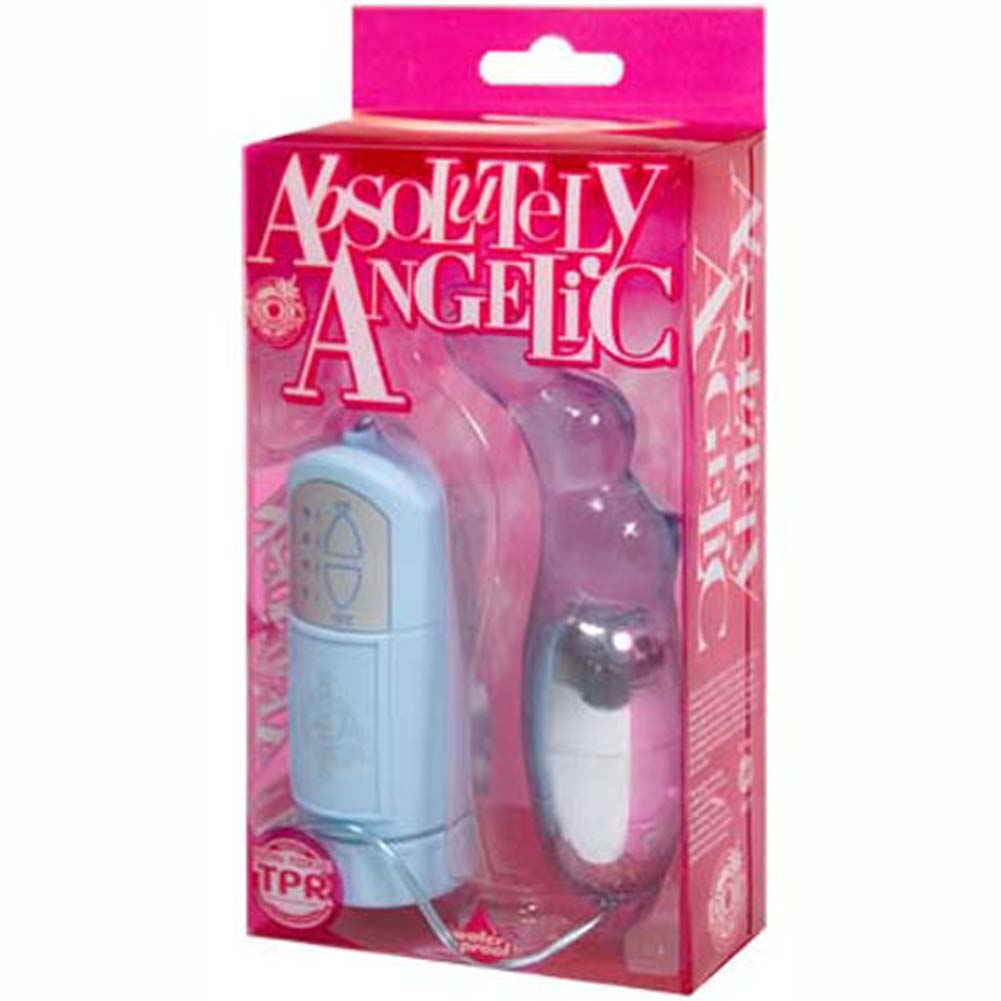 Absolutely Angelic Multispeed Waterproof Bullet Baby Blue - View #2