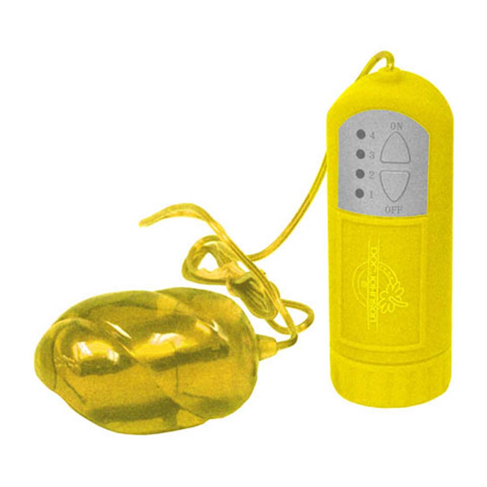 "Lucid Dream Number 5 Waterproof Bullet Vibrator 2.5"" Yellow - View #2"