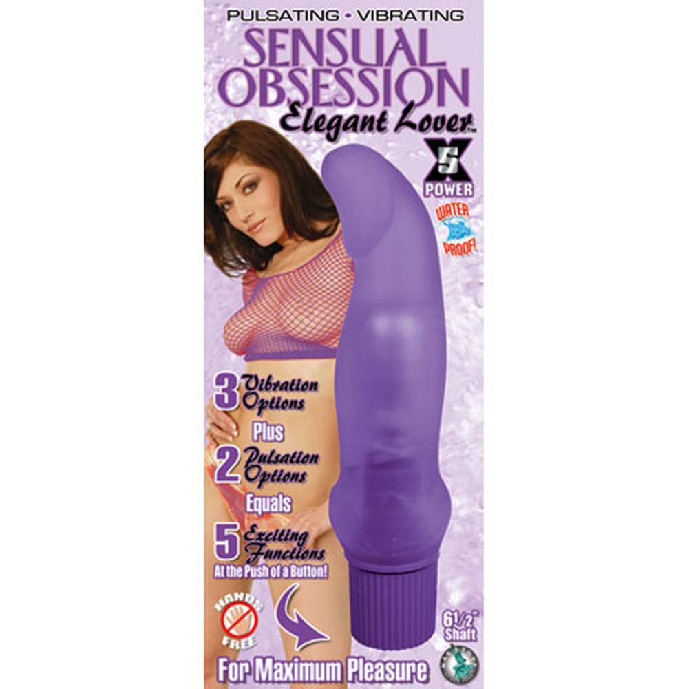Sensual Obsession Elegant Lover Waterproof Vibe Lavender - View #1