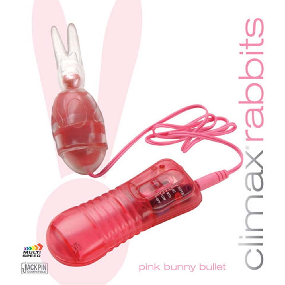 Climax Rabbits Bunny Bullet Pink 3.75 In. - View #1