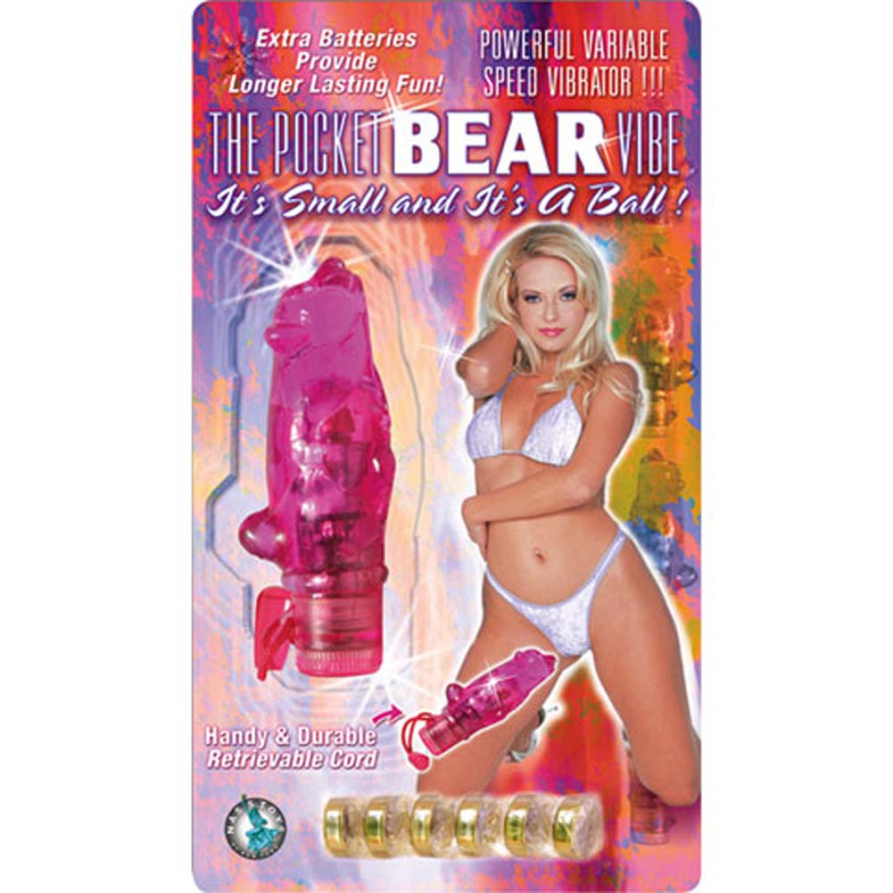 Pocket Bear Vibe Pink 3.25 In. - View #1