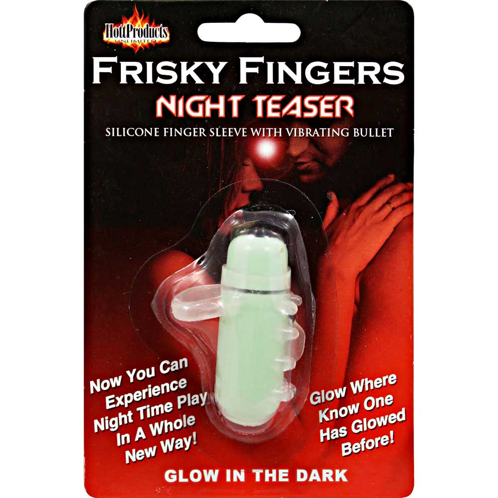 Frisky Fingers Night Teaser Glow in the Dark Silicone Vibe - View #4