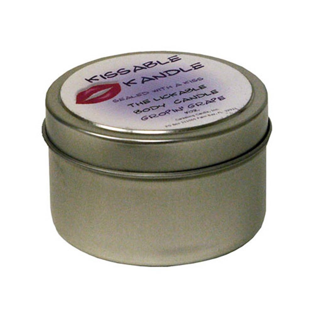 Kissable Kandle Gropin Grape 4 Oz. - View #1