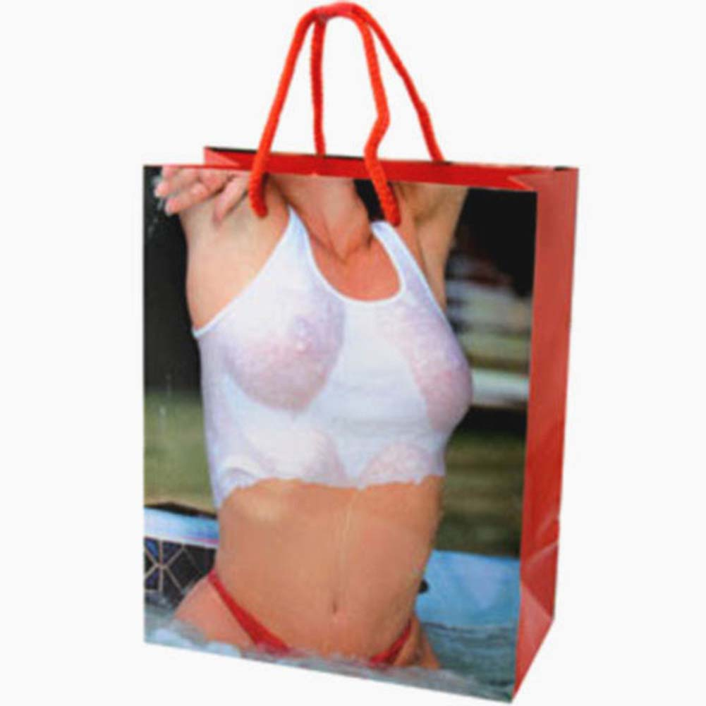 Girl Wet Tank Top Gift Bag - View #1