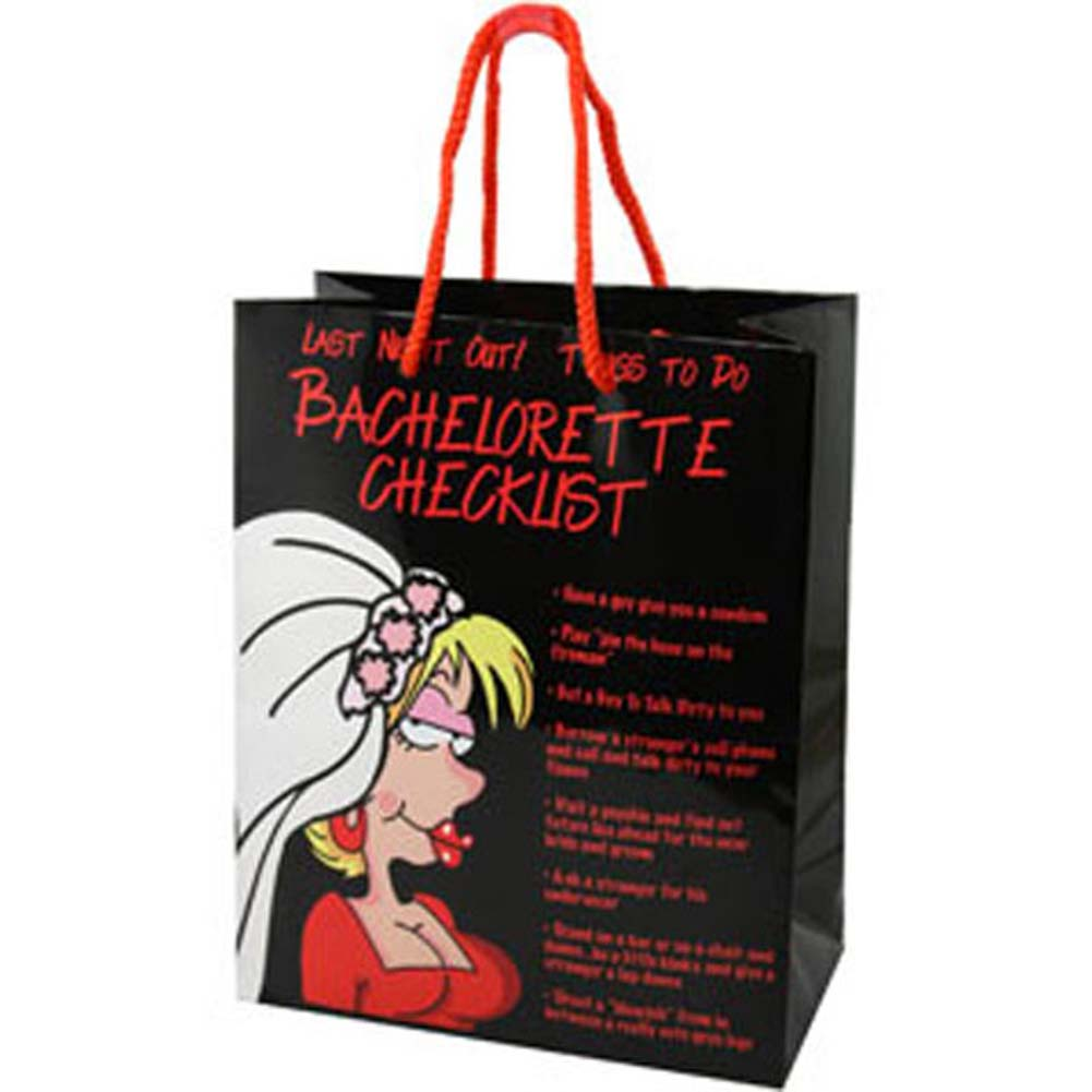 Bachelorette Checklist Gift Bag - View #1