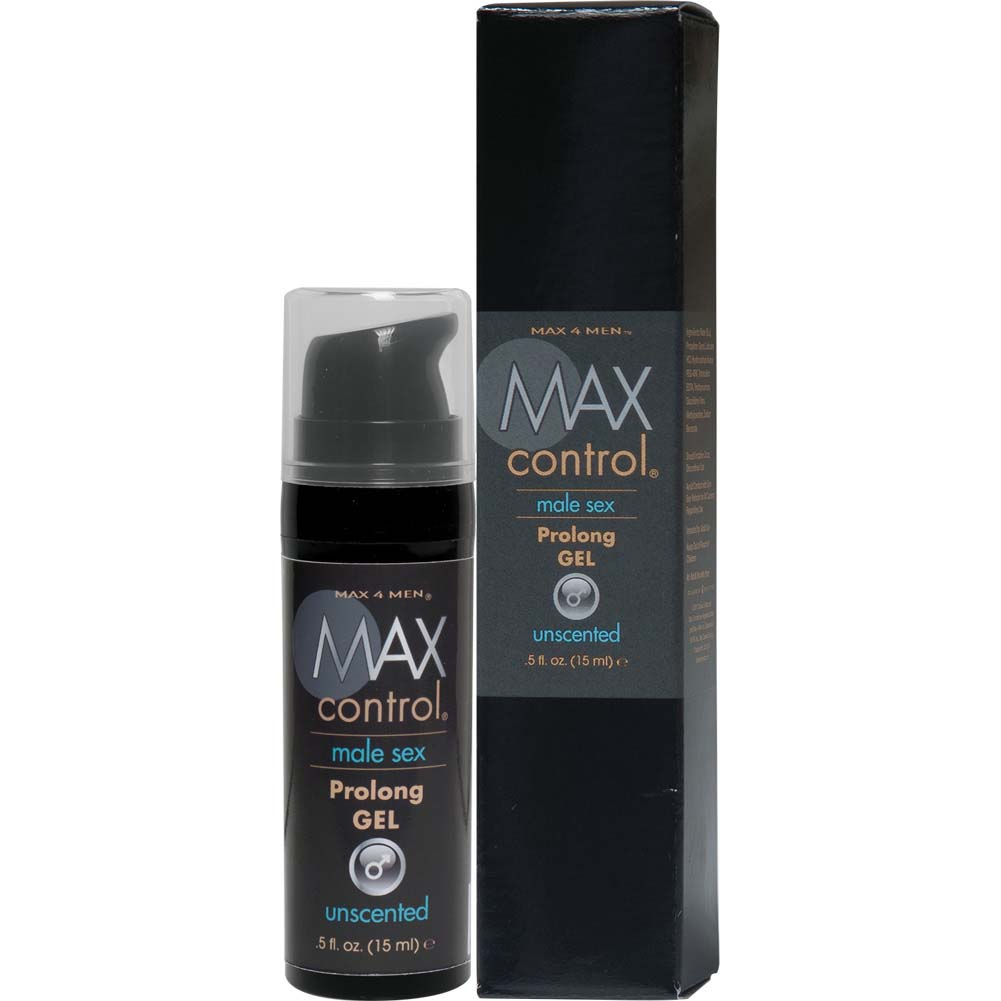 Max Control Prolong Gel for Men 0.5 Fl.Oz 15 mL Boxed - View #2