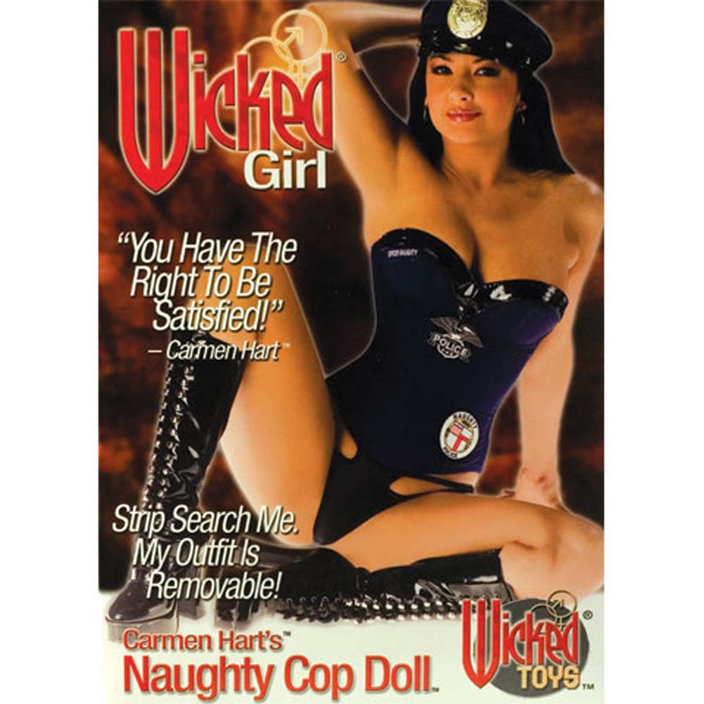 Wicked Girl Carmen Hart'S Naughty Cop Doll - View #2