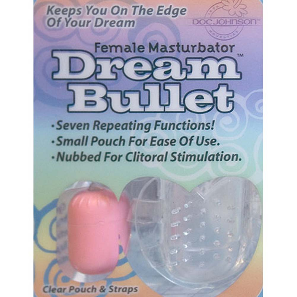 Dream Vibrating Bullet Pink - View #3