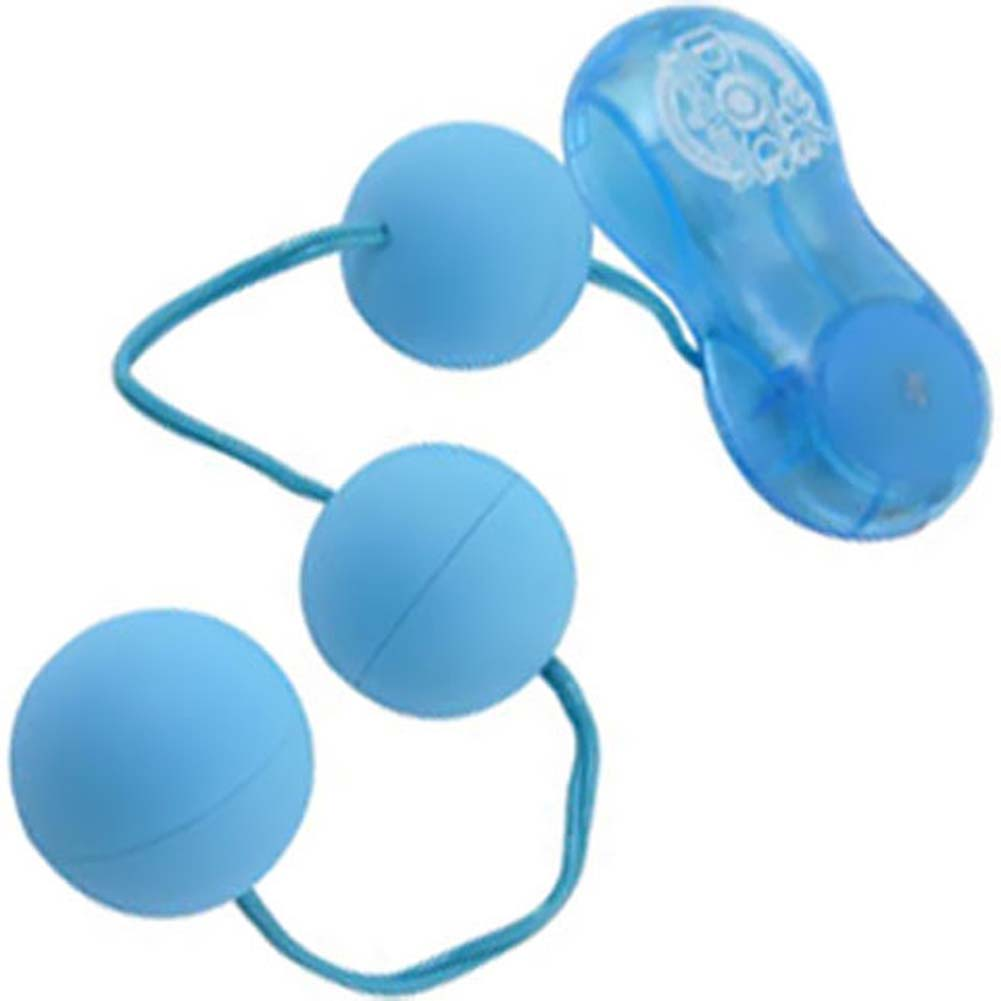 P3 Power Vibrating Balls Baby Blue - View #2