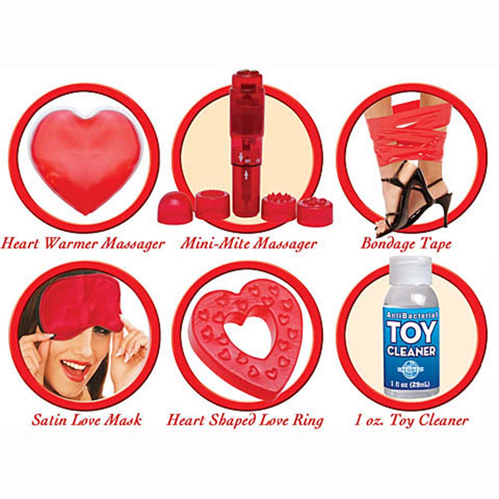 Pipedream Products Deluxe Bag of Love All Inclusive Sex Kit for Lovers - View #2
