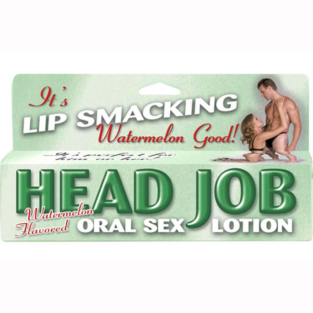 Head Job Oral Sex Lotion Tube Watermelon 1.5 Fl. Oz. - View #2